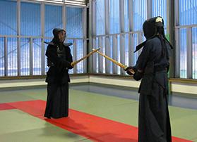 建築と剣道