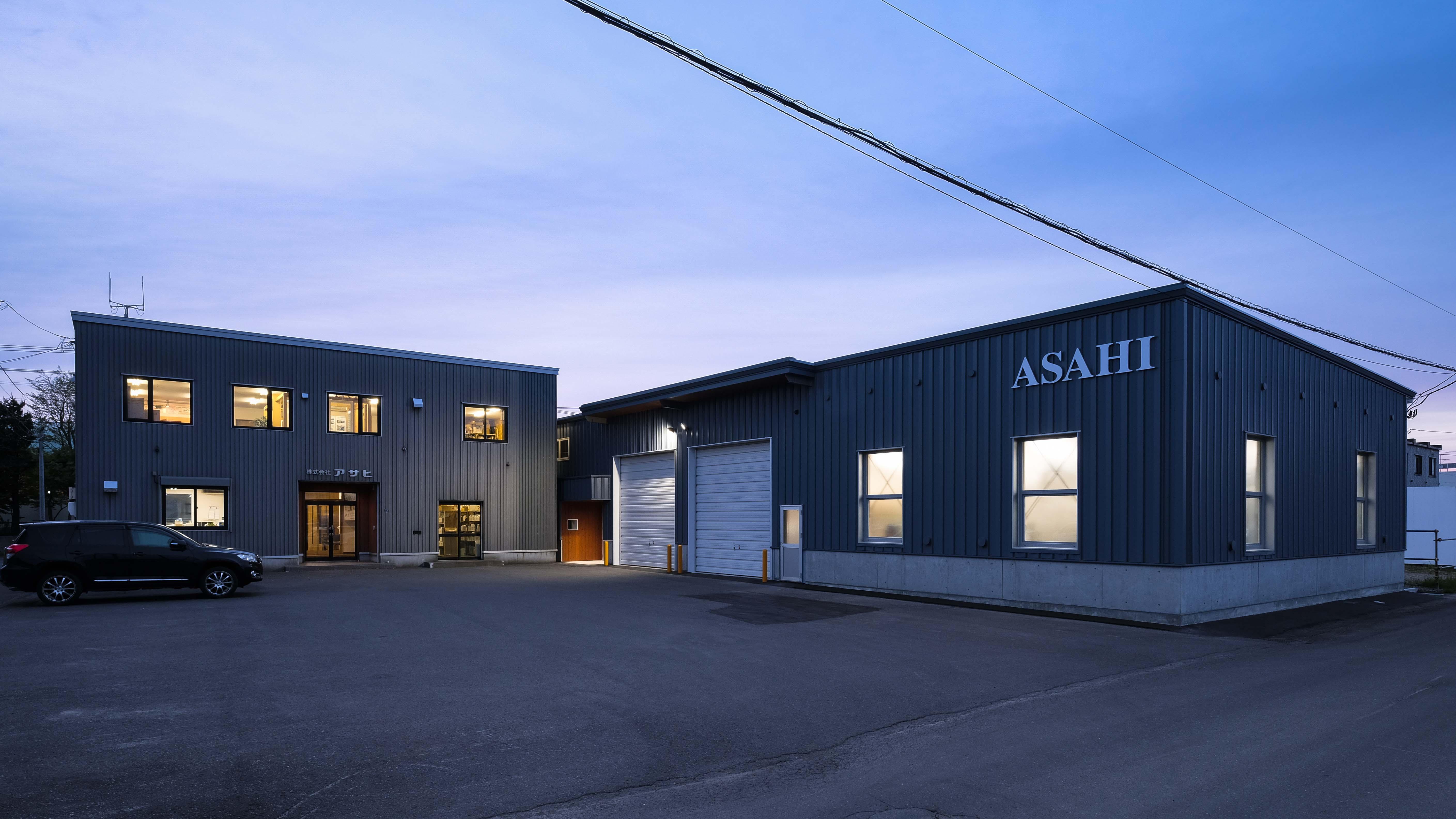 ㈱アサヒ倉庫が横河システム建築札幌エリアのグッドデザイン賞を頂きました