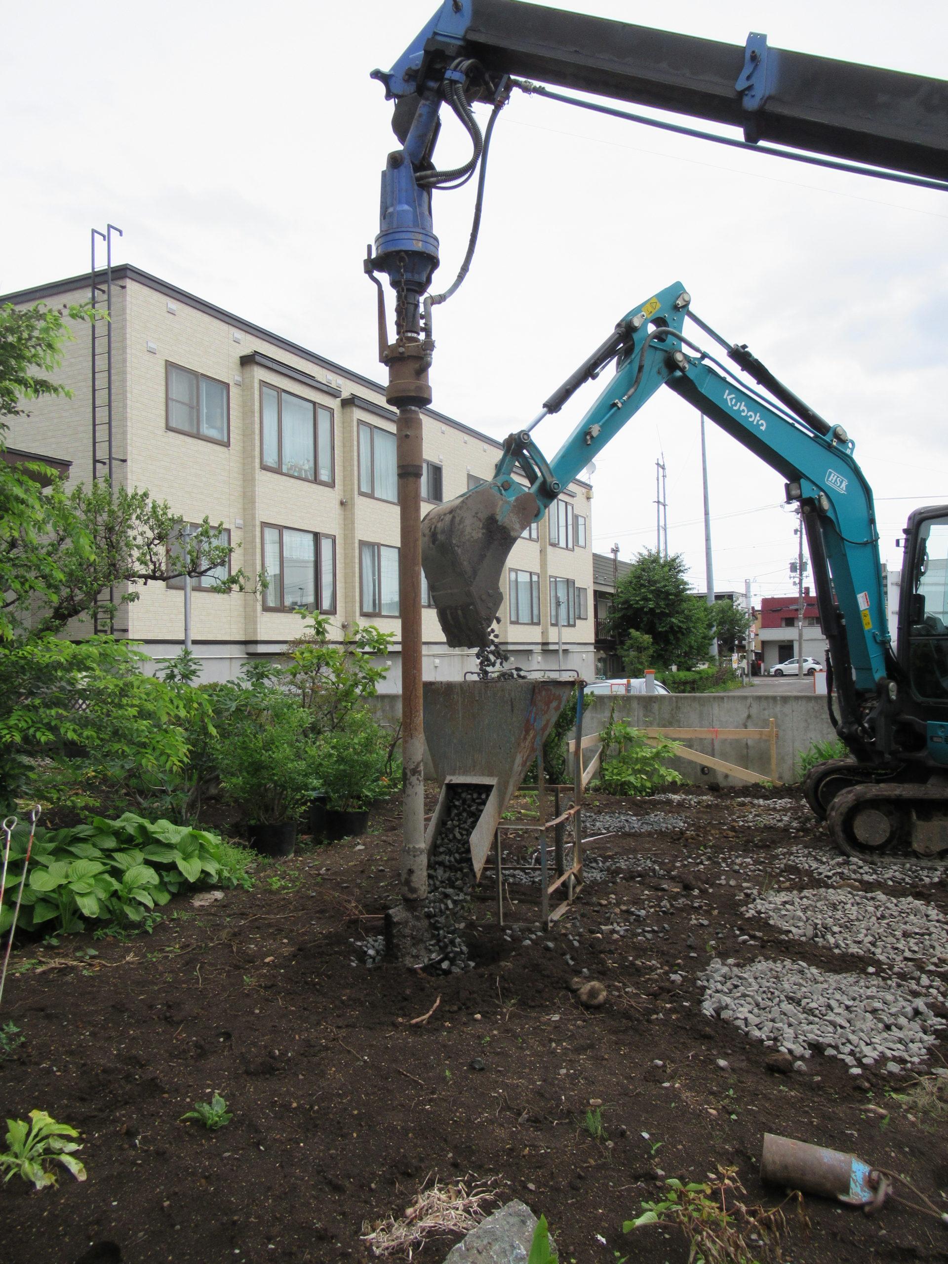 札幌版次世代トップランナー仕様住宅の現場スタートしています。